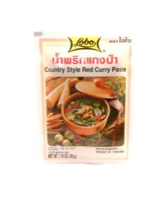 Jungle Curry Paste [Country Style Red Curry/Kaeng Par] by Lobo | Buy Online at the Asian Cookshop